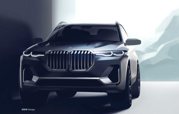 Oficial: BMW X7 se prezintă. Cel mai mare SUV din gama bavarezilor oferă 7 locuri și motorizări de până la 400 CP în Europa - Poza 48