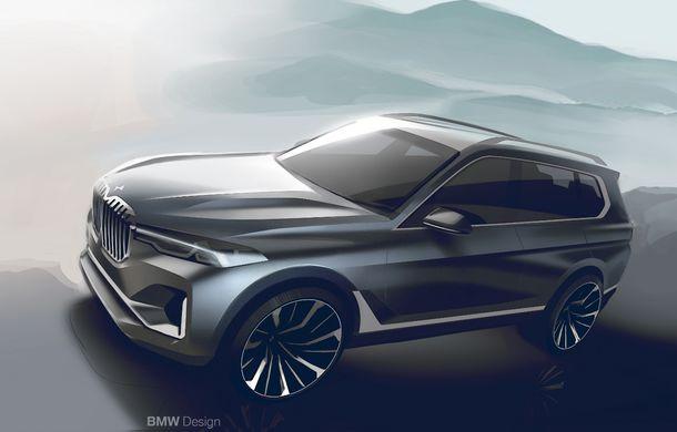 Oficial: BMW X7 se prezintă. Cel mai mare SUV din gama bavarezilor oferă 7 locuri și motorizări de până la 400 CP în Europa - Poza 46