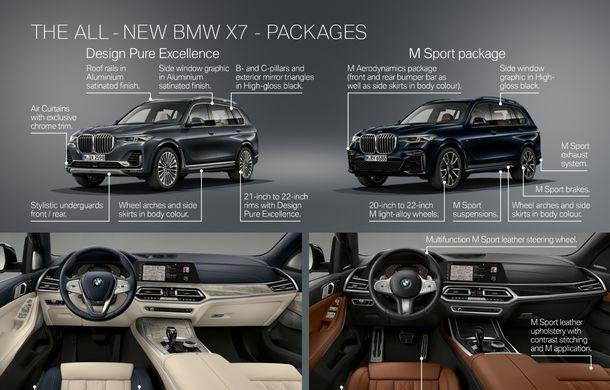 Oficial: BMW X7 se prezintă. Cel mai mare SUV din gama bavarezilor oferă 7 locuri și motorizări de până la 400 CP în Europa - Poza 55