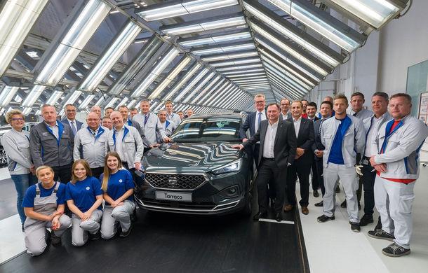 Seat a demarat producția noului Tarraco: cel mai mare SUV din gama constructorului spaniol este asamblat la Wolfsburg - Poza 1