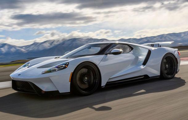 Producția lui Ford GT, extinsă pe o perioadă de doi ani: americanii vor asambla încă 350 de exemplare - Poza 1