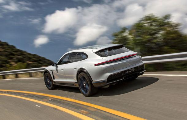 Oficial: Porsche Mission E Cross Turismo va avea versiune de producție - Poza 7