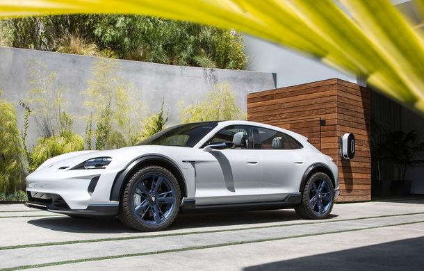 Oficial: Porsche Mission E Cross Turismo va avea versiune de producție - Poza 8