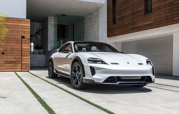 Oficial: Porsche Mission E Cross Turismo va avea versiune de producție - Poza 9
