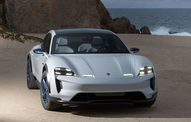 Oficial: Porsche Mission E Cross Turismo va avea versiune de producție - Poza 4