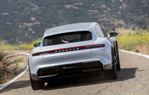 Oficial: Porsche Mission E Cross Turismo va avea versiune de producție - Poza 10