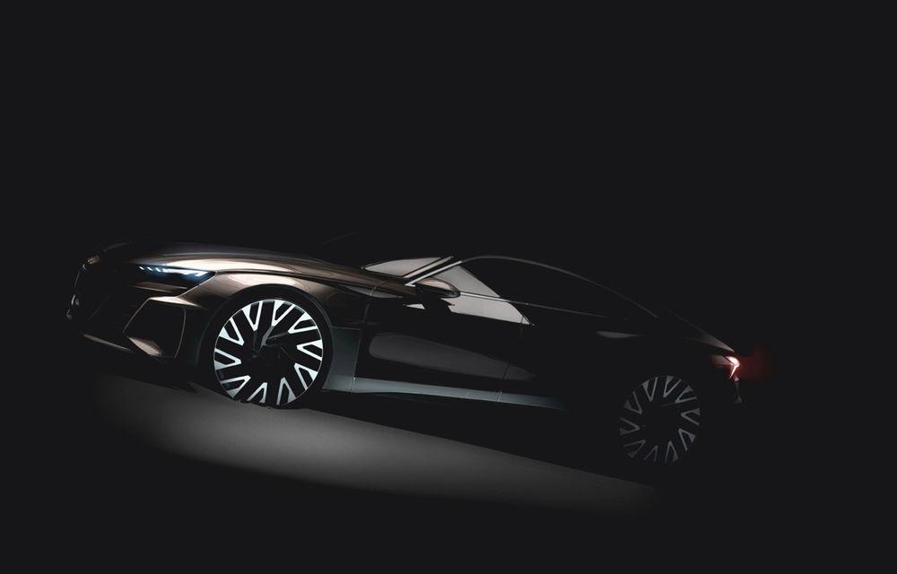 Detalii noi despre Audi e-tron GT: sportiva electrică va avea performanțe apropiate de Tesla Model S și autonomie de 400 de kilometri - Poza 1