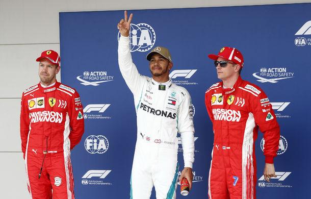 Hamilton, pole position în Statele Unite! Vettel, mai lent cu numai 0.061 secunde, dar va pleca de pe locul 5 - Poza 1