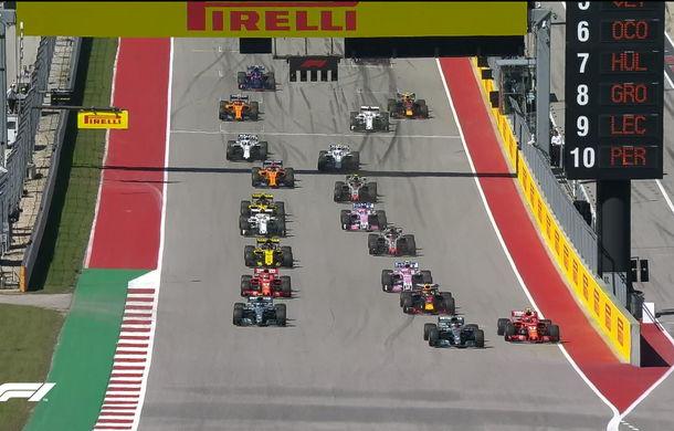 Raikkonen a câștigat cursa din Statele Unite în fața lui Verstappen și Hamilton! Vettel rămâne în cursa pentru titlu cu un loc 4 - Poza 2