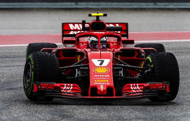 Raikkonen a câștigat cursa din Statele Unite în fața lui Verstappen și Hamilton! Vettel rămâne în cursa pentru titlu cu un loc 4 - Poza 1