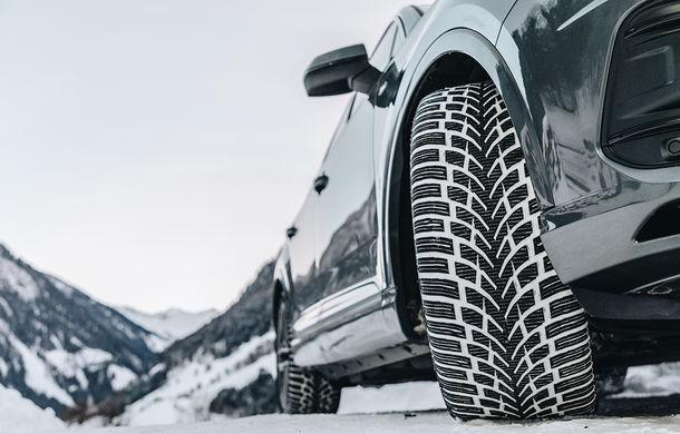 Nokian anunță trei noi modele de anvelope de iarnă. WR SUV 4 este conceput pentru ierni care amestecă lapovița cu ploaia și zăpada, cum sunt cele din Europa Centrală - Poza 1