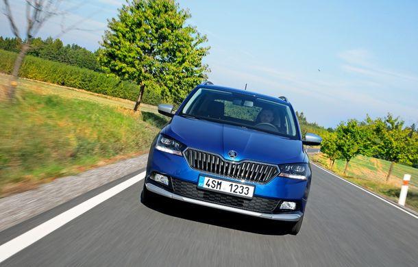 Primele imagini cu Skoda Fabia Combi Scoutline facelift: protecții suplimentare și doar motorizări pe benzină - Poza 3