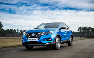 Prețuri pentru Nissan Qashqai facelift echipat cu motorul pe benzină de 1.3 litri: start de la aproape 19.000 de euro