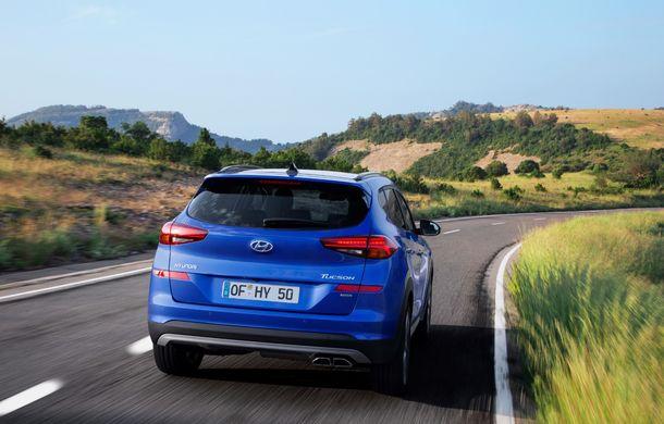 Hyundai Tucson facelift, disponibil și în România: start de la 22.300 de euro. Promoție de lansare de la 17.300 de euro - Poza 10