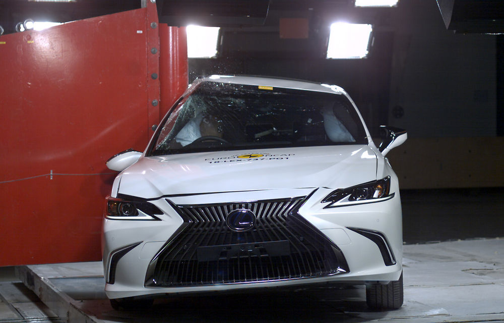 Noi rezultate Euro NCAP: Mercedes-Benz Clasa A, Mazda 6, Lexus ES și Hyundai Nexo au primit câte 5 stele - Poza 7