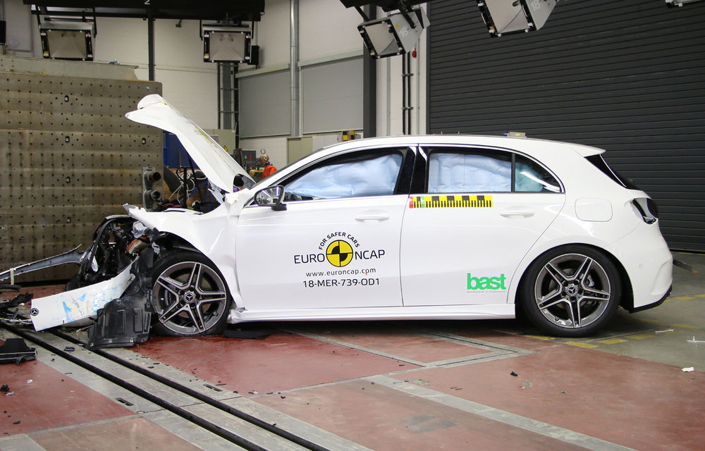 Noi rezultate Euro NCAP: Mercedes-Benz Clasa A, Mazda 6, Lexus ES și Hyundai Nexo au primit câte 5 stele - Poza 1