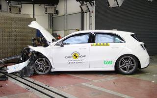 Noi rezultate Euro NCAP: Mercedes-Benz Clasa A, Mazda 6, Lexus ES și Hyundai Nexo au primit câte 5 stele