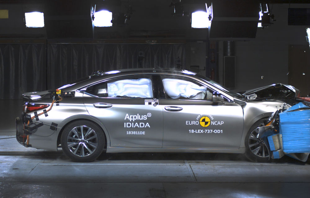 Noi rezultate Euro NCAP: Mercedes-Benz Clasa A, Mazda 6, Lexus ES și Hyundai Nexo au primit câte 5 stele - Poza 8