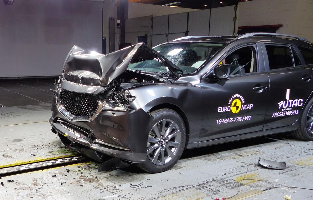 Noi rezultate Euro NCAP: Mercedes-Benz Clasa A, Mazda 6, Lexus ES și Hyundai Nexo au primit câte 5 stele - Poza 6