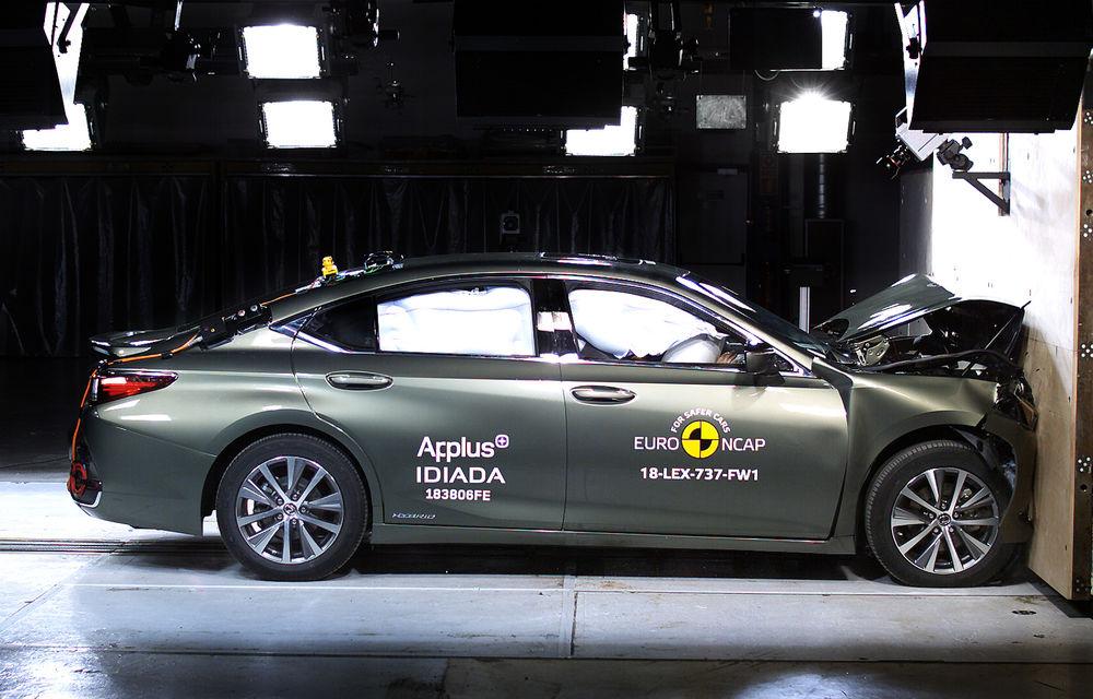 Noi rezultate Euro NCAP: Mercedes-Benz Clasa A, Mazda 6, Lexus ES și Hyundai Nexo au primit câte 5 stele - Poza 9