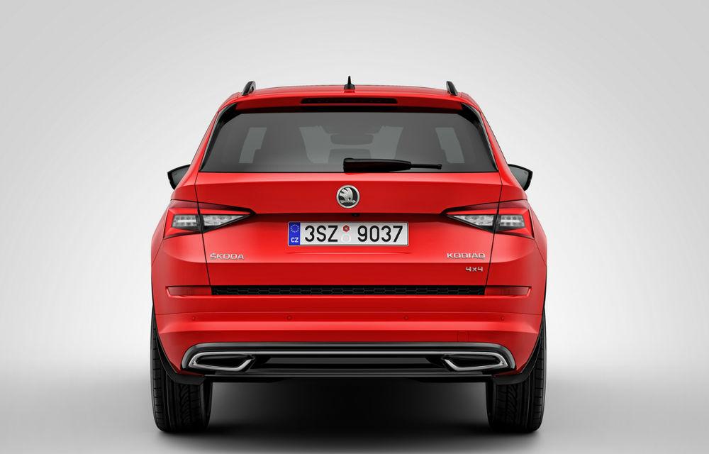 Skoda Kodiaq Sportline poate fi comandat și în România: SUV-ul cehilor are motor diesel de 190 CP, iar prețurile pornesc de la 35.200 de euro - Poza 5