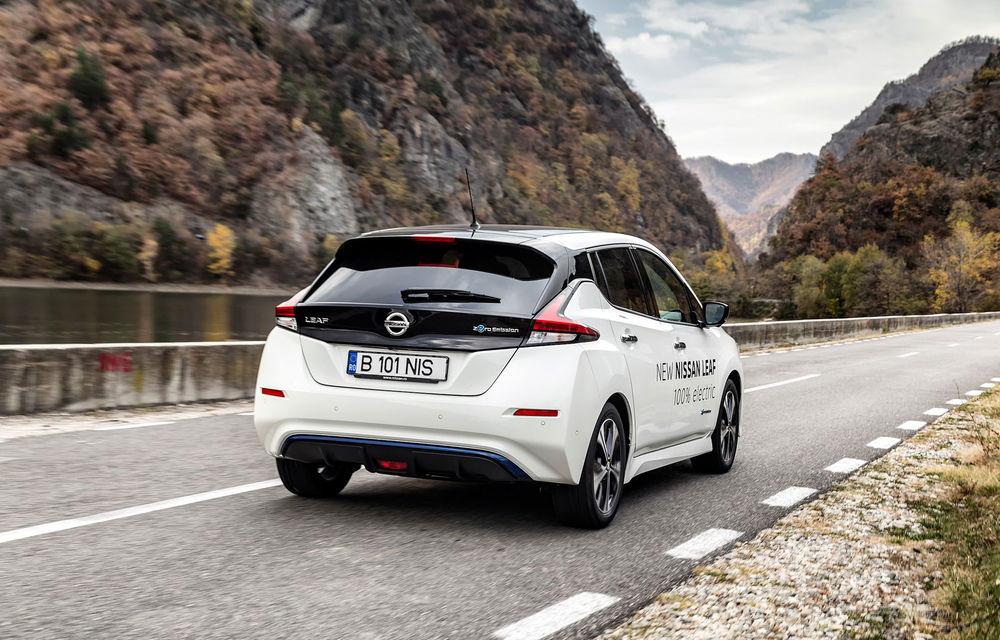 #ElectricChallenge: Nissan Leaf a parcurs București-Sibiu cu un singur plin al bateriei - Poza 18
