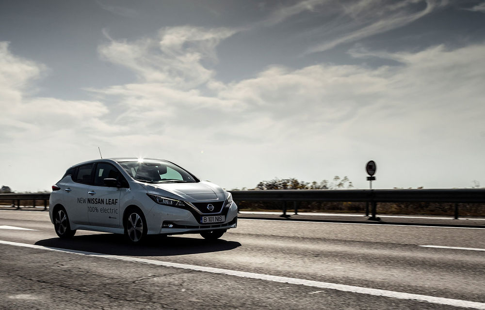 #ElectricChallenge: Nissan Leaf a parcurs București-Sibiu cu un singur plin al bateriei - Poza 6