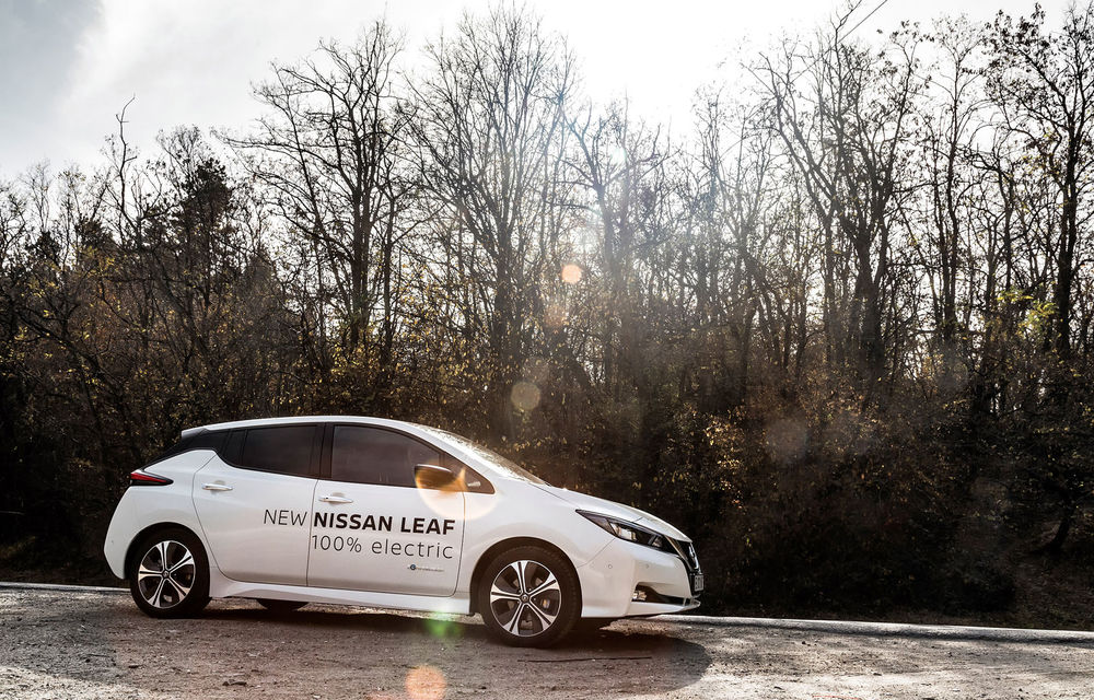 #ElectricChallenge: Nissan Leaf a parcurs București-Sibiu cu un singur plin al bateriei - Poza 11