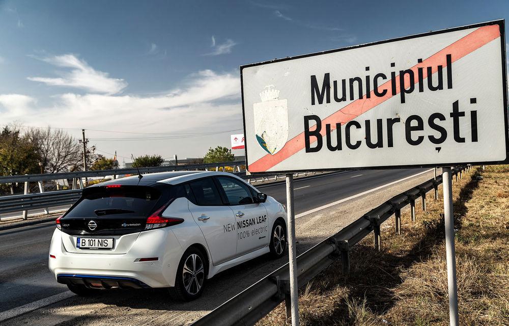 #ElectricChallenge: Nissan Leaf a parcurs București-Sibiu cu un singur plin al bateriei - Poza 5