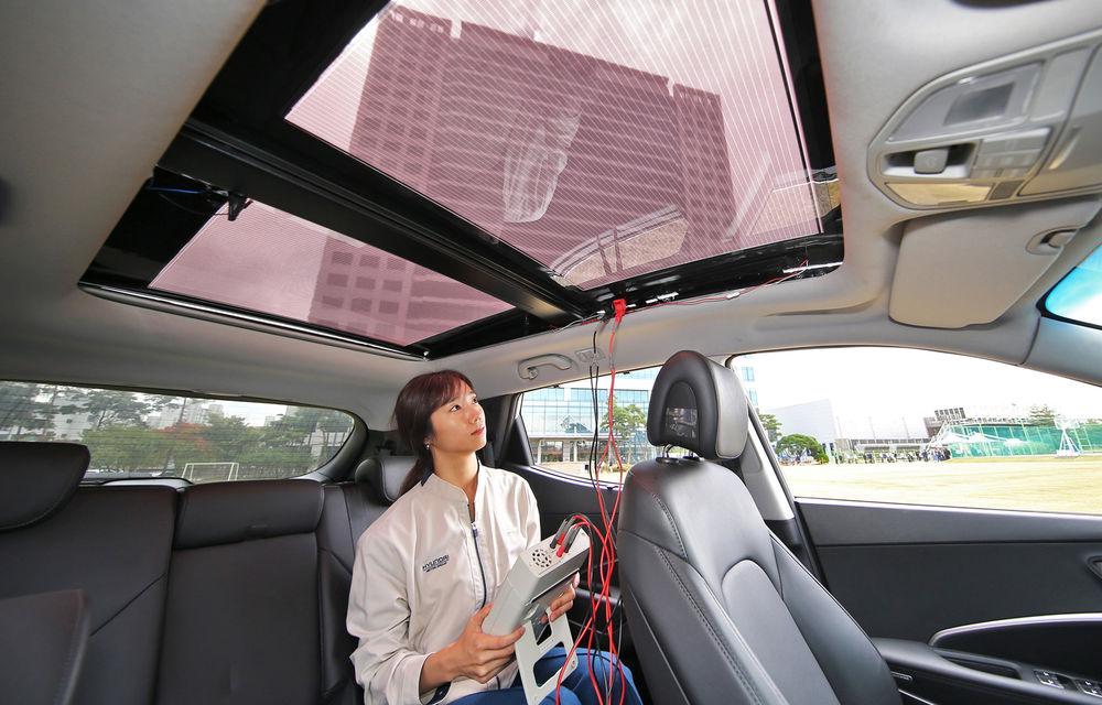 Hyundai și Kia vor introduce panouri solare pe plafonul unor modele: sistemul, disponibil inclusiv pentru mașini cu motoare termice - Poza 2