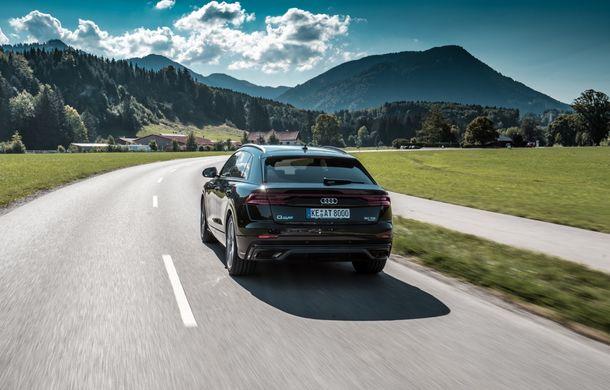 Audi Q8, preparat de ABT: 330 CP și jante de 22 de inch pentru SUV-ul coupe din Ingolstadt - Poza 7