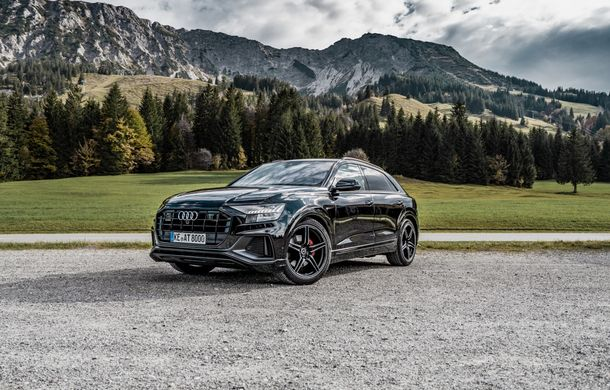 Audi Q8, preparat de ABT: 330 CP și jante de 22 de inch pentru SUV-ul coupe din Ingolstadt - Poza 4