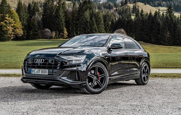 Audi Q8, preparat de ABT: 330 CP și jante de 22 de inch pentru SUV-ul coupe din Ingolstadt - Poza 1