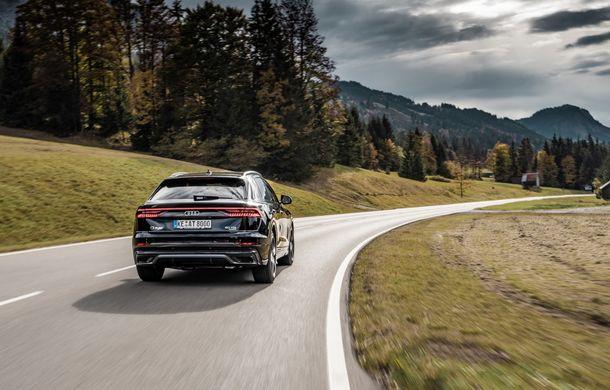 Audi Q8, preparat de ABT: 330 CP și jante de 22 de inch pentru SUV-ul coupe din Ingolstadt - Poza 8
