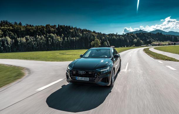 Audi Q8, preparat de ABT: 330 CP și jante de 22 de inch pentru SUV-ul coupe din Ingolstadt - Poza 3
