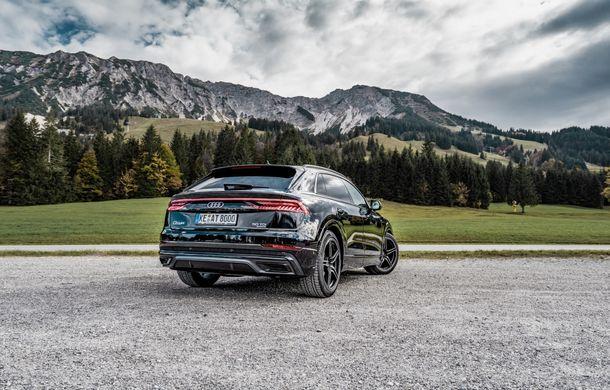 Audi Q8, preparat de ABT: 330 CP și jante de 22 de inch pentru SUV-ul coupe din Ingolstadt - Poza 5