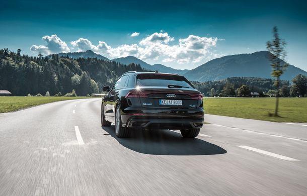 Audi Q8, preparat de ABT: 330 CP și jante de 22 de inch pentru SUV-ul coupe din Ingolstadt - Poza 6