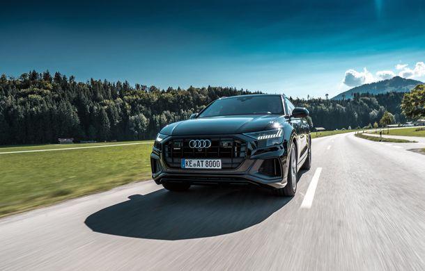 Audi Q8, preparat de ABT: 330 CP și jante de 22 de inch pentru SUV-ul coupe din Ingolstadt - Poza 2