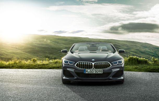 BMW Seria 8 Cabrio, poze și informații oficiale: motorizări de până la 530 CP și 15 secunde pentru plierea plafonului din material textil - Poza 10