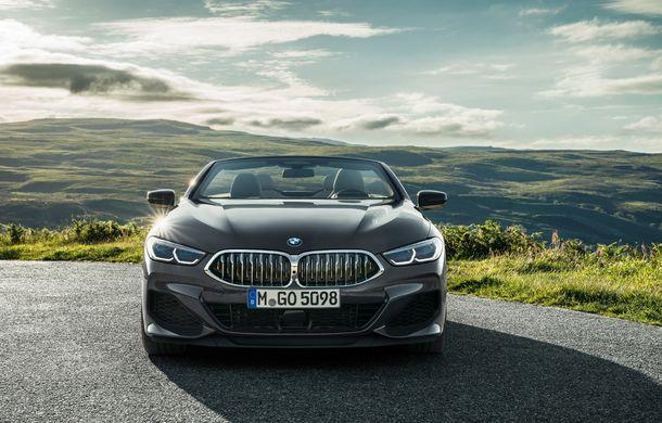 BMW Seria 8 Cabrio, poze și informații oficiale: motorizări de până la 530 CP și 15 secunde pentru plierea plafonului din material textil - Poza 11