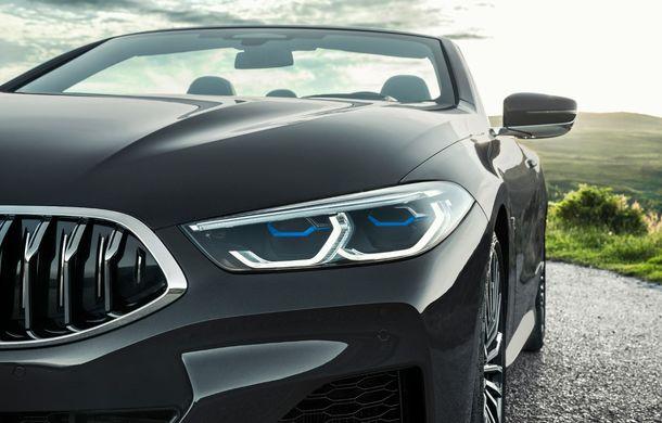 BMW Seria 8 Cabrio, poze și informații oficiale: motorizări de până la 530 CP și 15 secunde pentru plierea plafonului din material textil - Poza 30