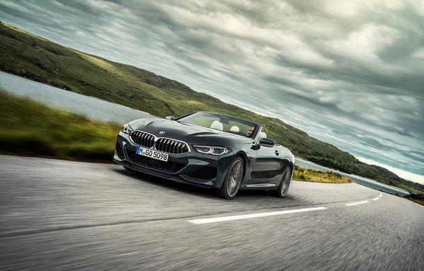 BMW Seria 8 Cabrio, poze și informații oficiale: motorizări de până la 530 CP și 15 secunde pentru plierea plafonului din material textil - Poza 2