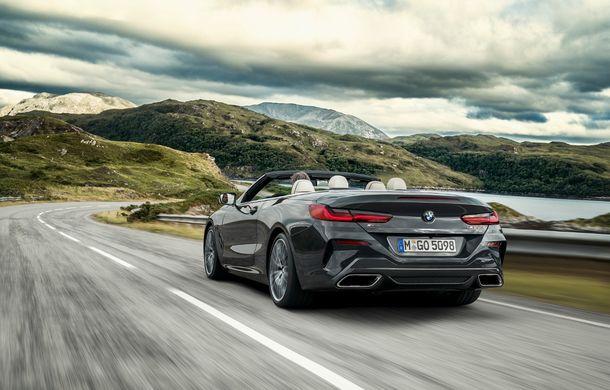 BMW Seria 8 Cabrio, poze și informații oficiale: motorizări de până la 530 CP și 15 secunde pentru plierea plafonului din material textil - Poza 22