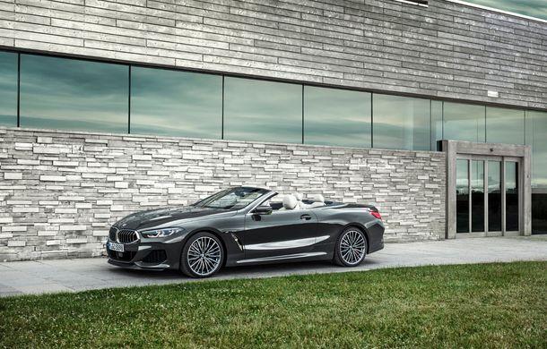 BMW Seria 8 Cabrio, poze și informații oficiale: motorizări de până la 530 CP și 15 secunde pentru plierea plafonului din material textil - Poza 12