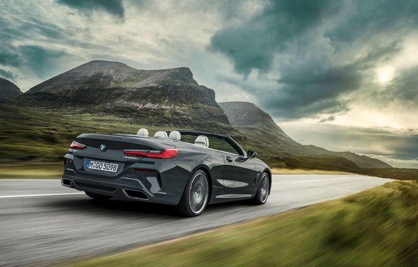 BMW Seria 8 Cabrio, poze și informații oficiale: motorizări de până la 530 CP și 15 secunde pentru plierea plafonului din material textil - Poza 18