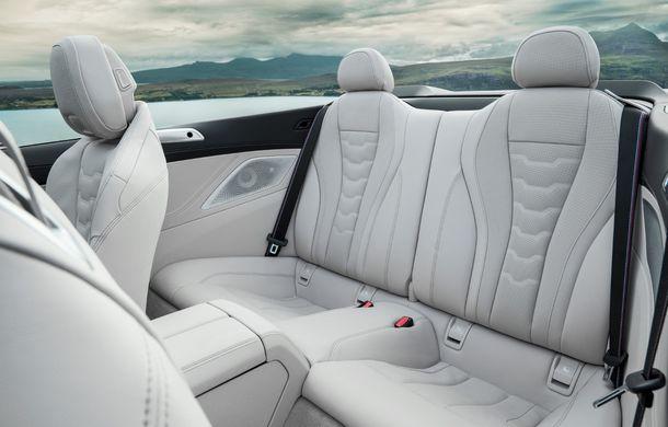 BMW Seria 8 Cabrio, poze și informații oficiale: motorizări de până la 530 CP și 15 secunde pentru plierea plafonului din material textil - Poza 42