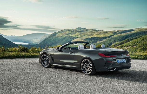 BMW Seria 8 Cabrio, poze și informații oficiale: motorizări de până la 530 CP și 15 secunde pentru plierea plafonului din material textil - Poza 28