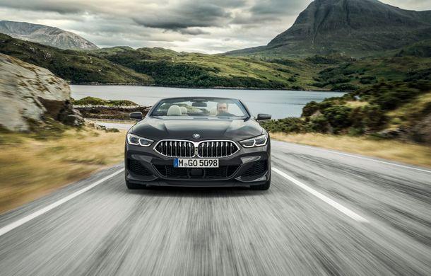 BMW Seria 8 Cabrio, poze și informații oficiale: motorizări de până la 530 CP și 15 secunde pentru plierea plafonului din material textil - Poza 5