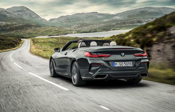 BMW Seria 8 Cabrio, poze și informații oficiale: motorizări de până la 530 CP și 15 secunde pentru plierea plafonului din material textil - Poza 21