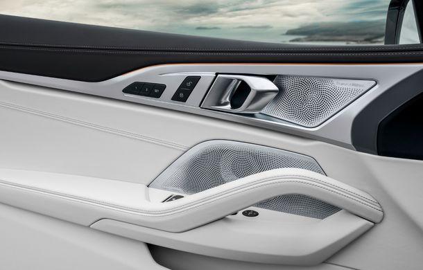 BMW Seria 8 Cabrio, poze și informații oficiale: motorizări de până la 530 CP și 15 secunde pentru plierea plafonului din material textil - Poza 41
